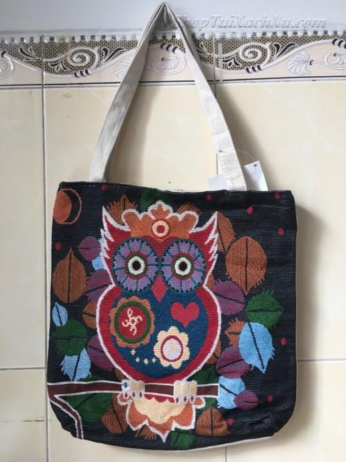 Túi Vải cavas giá rẻ tại TPHCM